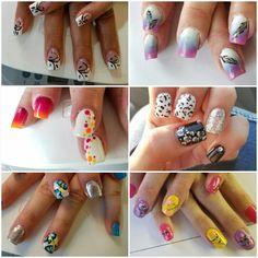 #nailcollage #nailart #ombrenails