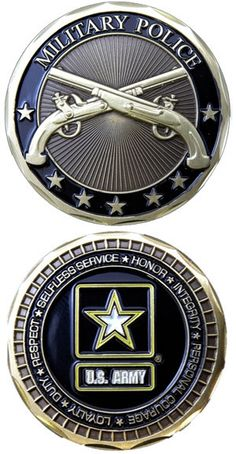 "The Army Challenge Coins make great gifts for our Veterans, their families and civilians who want to show their support for our military. Top quality Bronze Alloy measuring 1 5/8"" in diameter. Officia"
