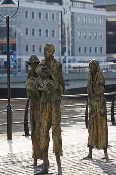Famine Memorial - Dublin [The Streets Of Ireland]