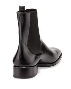 Black Chelsea Boots, Leather Chelsea Boots, Neiman Marcus Shoes, Black Toms, Business Shoes, Minimal Classic, Dress With Boots, Modern Fashion, Tom Ford