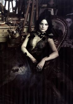 Vogue Italy March 2014   Guinevere van Seenus by Paolo Roversi