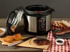 Purchase Emson Indoor Pressure Smoker from Emson on OpenSky. Share and compare all Kitchen. Indoor Smoker, Smoking Recipes, Kitchen Essentials, Cooking Tools, Crockpot, Slow Cooker, Kitchen Appliances, Smokers, Bobby