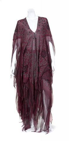 Barbra Streisand's Zandra Rhodes Dress, sold by Julien's Auctions; provenance dated 1994.