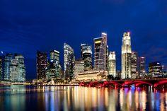 Singapore Skyline // HARRY-MARX.COM