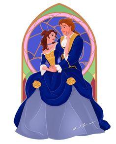Pixar, Cosplay, Disney Fan Art, Beauty And The Beast, Fanart, Baby Dolls, Princesses, Couple Art, Couples