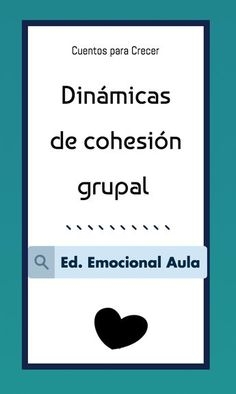 Dinámicas de cohesión grupal. #educaciónemocional #aula #educaciónemocionalaula #recursos Teaching Time, Teaching Resources, School Counsellor, Reggio Emilia Classroom, E Motion, Flipped Classroom, Cooperative Learning, Early Childhood Education, Emotional Intelligence