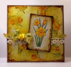 A showcase for artwork created with rubber stamps and paper designs from Chocolate Baroque.