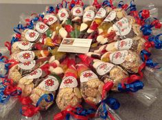 Personalised small sweet cones