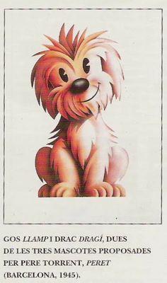 Mascota que compitió con Cobi. Mascota Olímpica - Barcelona 92 - Peret