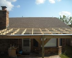 Covering A Patio with A Roof. Unique Covering A Patio with A Roof. How to Build A Patio Cover with A Corrugated Metal Roof Pergola With Roof, Pergola Patio, Diy Patio, Pergola Kits, Backyard Patio, Pergola Ideas, Cheap Pergola, Patio Ideas, Outdoor Patios