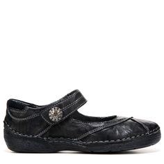 Propet Women's Blythe Medium/Wide Mary Jane Shoes (Black Leather) - 10.0 M
