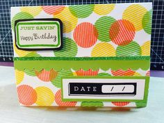 Crafty Carol : May 2015 Stamp of the Month Blog Hop #ScallopBorderPunch #D1627YourOwnKindOfWonderful