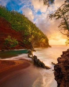 "Naked Planet on Instagram: ""Luminous - Hana, Maui, Hawaii @ScottReither"""