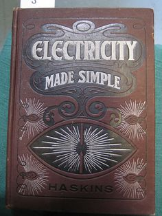 vintage electricity textbook