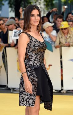 Pin for Later: Sandra Bullock Looks Better Than Ever at Her First Red Carpet Appearance in Over a Year