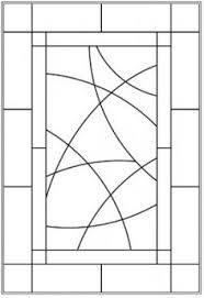 Image result for free frank lloyd wright stained glass patterns