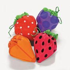 Adorable foldable Fruit Design drawstring tote Shoulder bag, Shopping Bag https://www.ebluejay.com/Ads/item/3701171