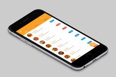 """Check out this @Behance project: """"Restaurant App"""" https://www.behance.net/gallery/31860959/Restaurant-App"""