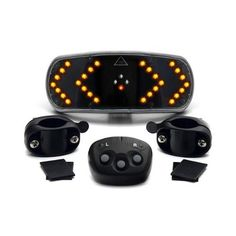 Be safe riding at night. Bicycle Signalling System Wireless Remote Control Bike Indicators - Cycling Gadget road safety by CKB Ltd