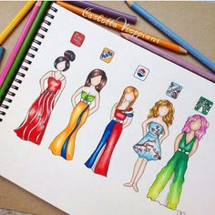Drinks-Dresses I see everybody drawing these kind of dresses inspired by so I decided to have my own attempt at this, but with this time with drinks (Coca Cola, Fanta, Pepsi, Arizona and Starbucks) What's your favourite drink? App Drawings, Disney Drawings, Art Sketches, Sketchbook Drawings, Amazing Drawings, Cute Drawings, Amazing Art, Awesome, Chibi Kawaii
