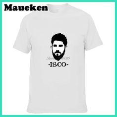 Men 14K Men Isco #22 Francisco Roman Alarcon T-shirt Clothes T Shirt Men's for Spain Madrid fans gift o-neck tee W0321005