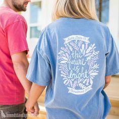 Alpha Delta Pi Recruitment T-Shirt | #LoveTheLab houndstoothpress.com | Alpha…