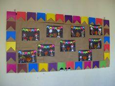 mural de festa junina - Pesquisa Google