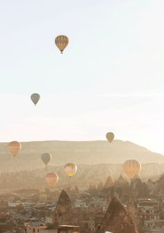 Discover 6 fantastic viewpoints for watching the Cappadocia hot air balloon show from the ground and discover why I decided against taking a balloon ride. Air Balloon Rides, Hot Air Balloon, Balloon Show, Capadocia, Dreams Do Come True, Adventure Awaits, Nice View, Balloons, Sky