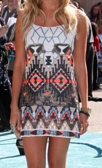 This looks like Emily Maynards dress from her date with Jef!