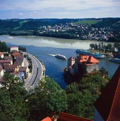 Germany - Passau: city at the confluence of three rivers (Danube, Inn, Ilz)    Author/Owner: Passau Tourismus e.V.