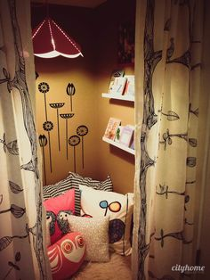 Darling Kid's Reading Nook