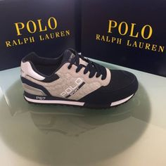 Slaton sneakers by Polo Ralph Lauren. Polo Ralph Lauren, Sneakers, Shoes, Fashion, Tennis, Moda, Slippers, Zapatos, Shoes Outlet