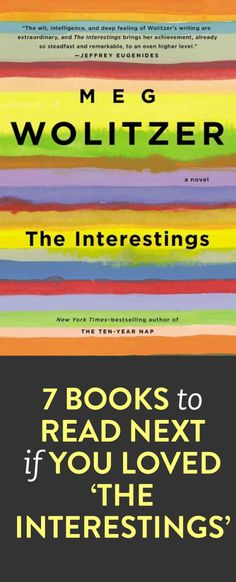 7 books to read if you loved the interestings