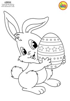Easter coloring pages - Uskrs bojanke za djecu - Free printables, Easter bunny, eggs, chicks and more on BonTon TV - Coloring books Easter Coloring Pages Printable, Easter Coloring Sheets, Easter Bunny Colouring, Bunny Coloring Pages, Coloring Pages For Grown Ups, Spring Coloring Pages, Free Adult Coloring Pages, Coloring For Kids, Coloring Books