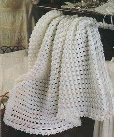 Mantitas para bebe tejidas a crochet | Solountip.com                                                                                                                                                     Más
