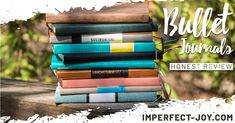 Bullet Journal Comparison and Review   Imperfect Joy   Blog Bullet Journals, Bujo, Im Not Perfect, Join, Journey, Good Things, Inspirational, I'm Not Perfect, The Journey