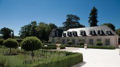Chateau du Coudreceau Estate Front Drive & Swimming Pool Building - www.cducestates.com #ChateauduCoudreceau #CduCEstates #Estate  #Chateau