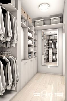 The Luxury Bathroom Interior Design You Need to Tune In! Dressing Room Decor, Dressing Room Closet, Dressing Room Design, Wardrobe Design Bedroom, Master Bedroom Closet, Bedroom Wardrobe, Walk In Closet Design, Closet Designs, Home Room Design