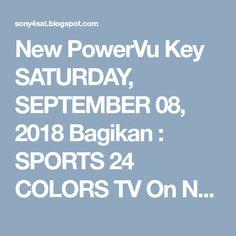 powervu keys AFN - Eutelsat 9 0°E 17/10/2018 | PowerVu Keys 2018
