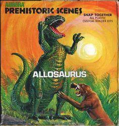 Love in the Time of Chasmosaurs: Vintage Dinosaur Art: Aurora Model Kits