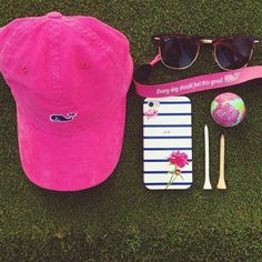 Golfing is fun when you accessorize Preppy Girl, Preppy Style, My Style, Preppy Outfits, Summer Outfits, Cute Outfits, Preppy Southern, Southern Prep, Southern Belle