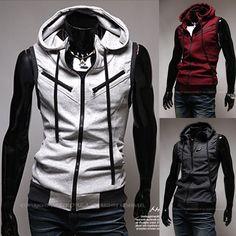 men's vest jacket