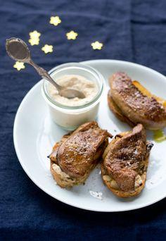 La Cuisine de Bernard : Toasts Croustillants au Foie Gras Poêlé