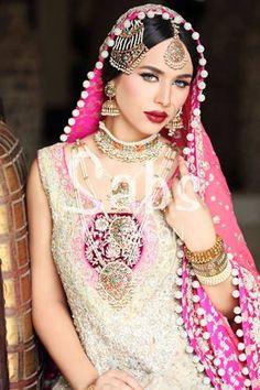 Ayyan Ali Hot Model Wedding Makeup Photoshoot for Sabs Salon