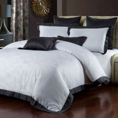 New Season's Home - 3-Piece Giada Duvet Set in White