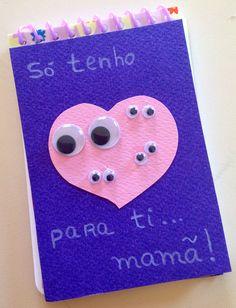 Bloco de notas , para o dia da mãe !