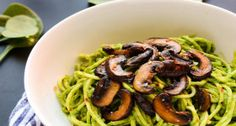 Vegan and gluten-free, zucchini noodles are a surprisingly satisfying sub for pasta.