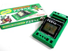 80s Retro Bandai LCD Game Double Play Jungle Panic Amida-Hebi Boxed MIJ_09 #Bandai