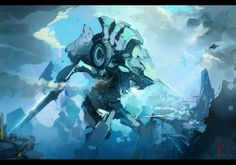 Have a look at this selection of amazing artworks made by Marc Brunet,Senior Character Artist at Blizzard.