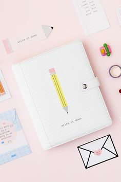 Celebrate the art of letter writing with our new Leather Personal Planner